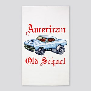 Chevelle old school 3'x5' Area Rug